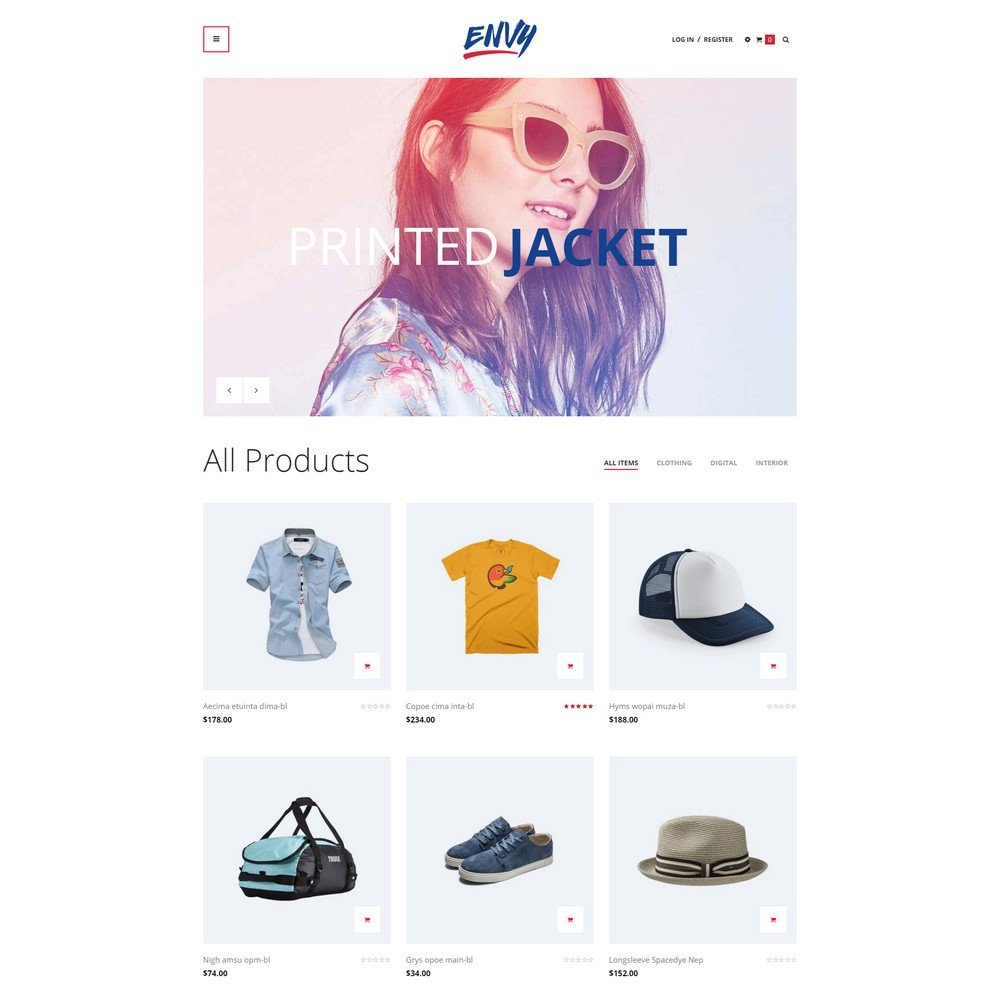 Ap-Envy free shopify theme