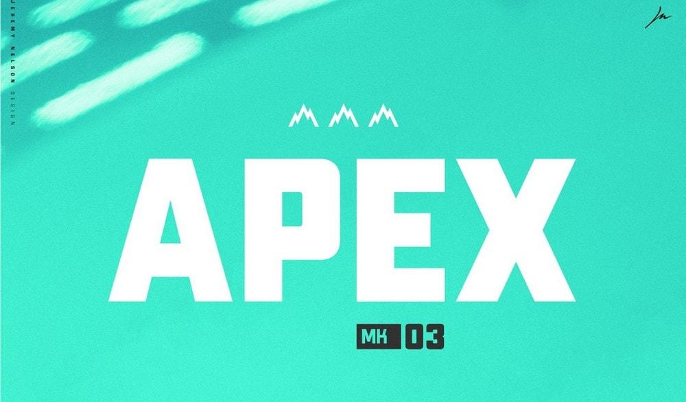 Apex Mk3 - Free Bold Title Font