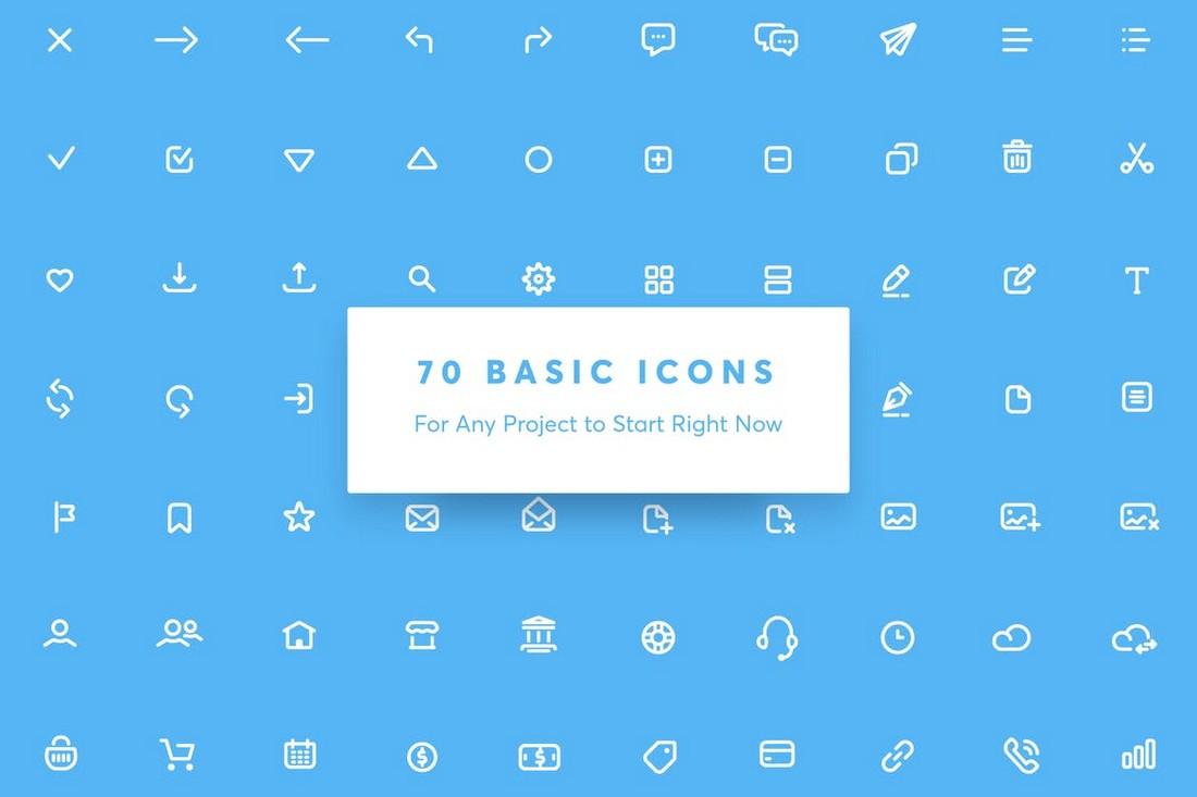Appon - Outline iOS Icon Set