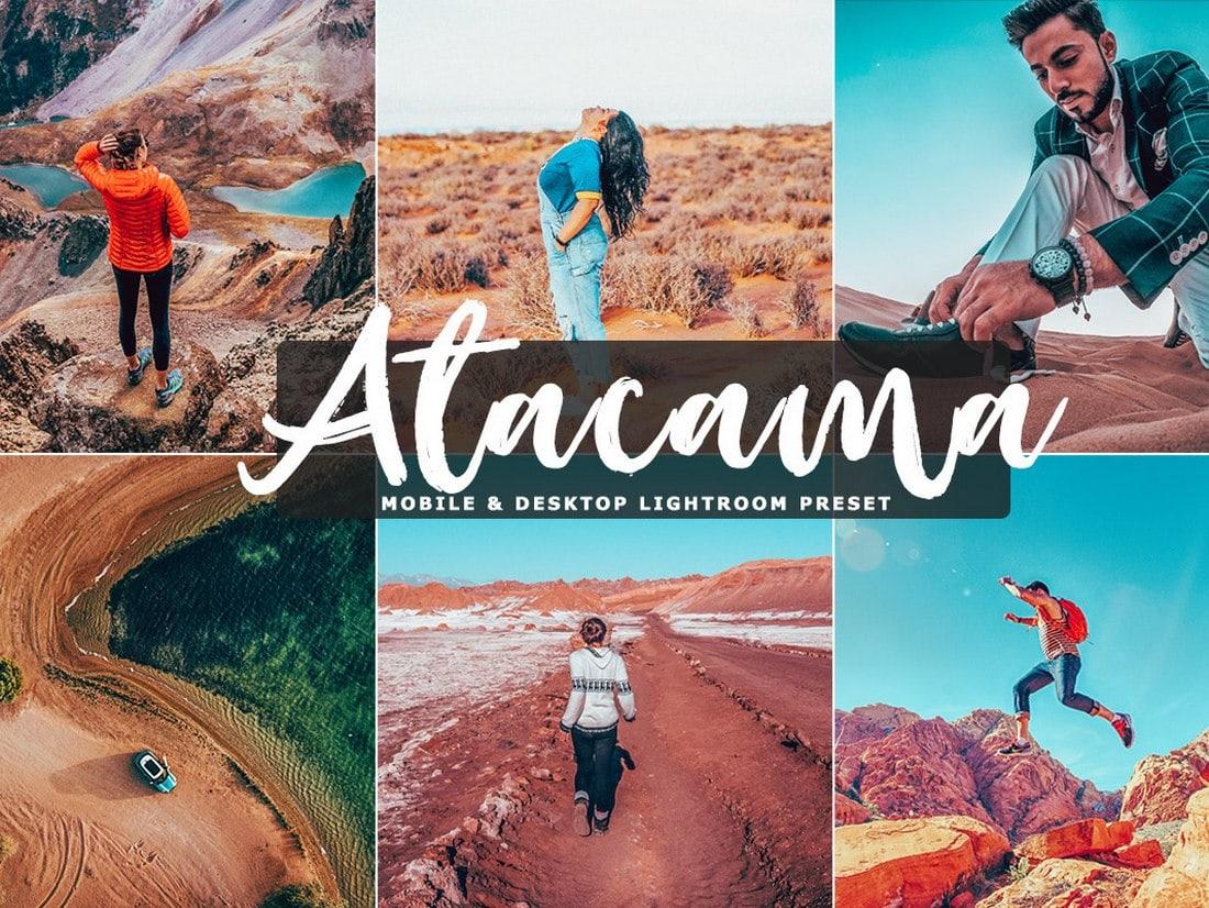 Atacama - Free Lightroom & Photoshop Actions