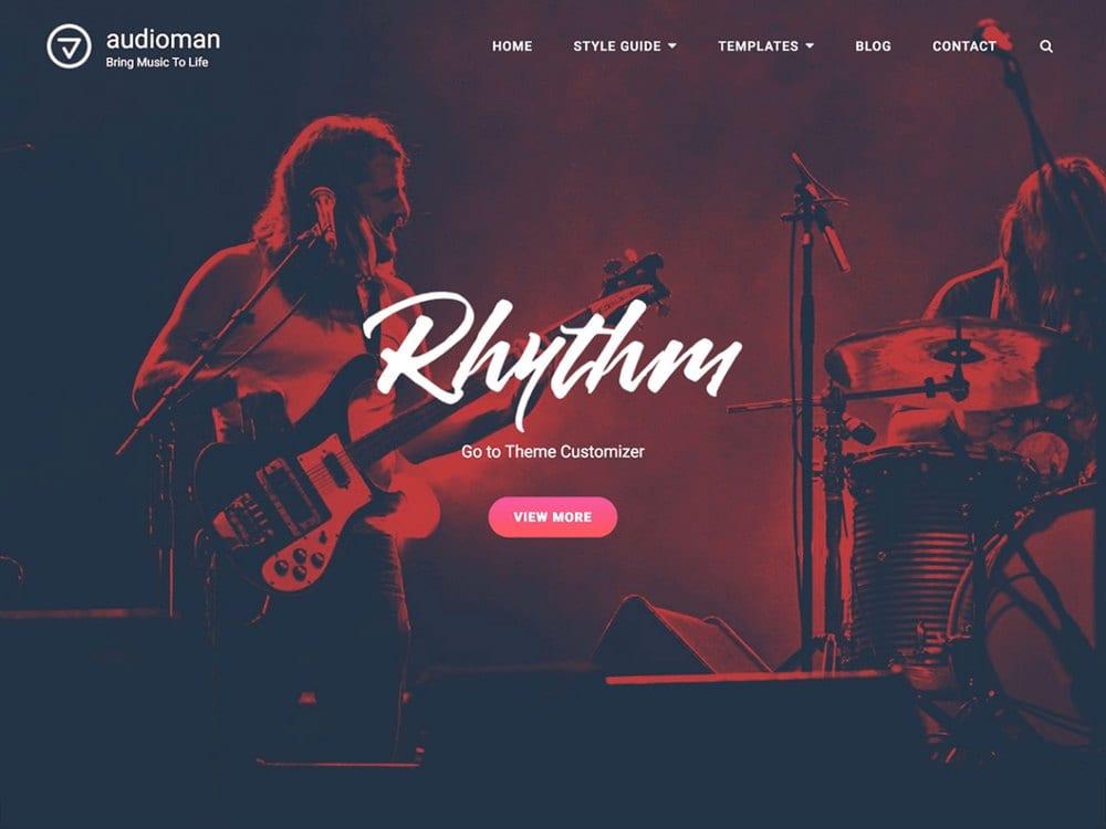 Audioman-free-wordpress-theme