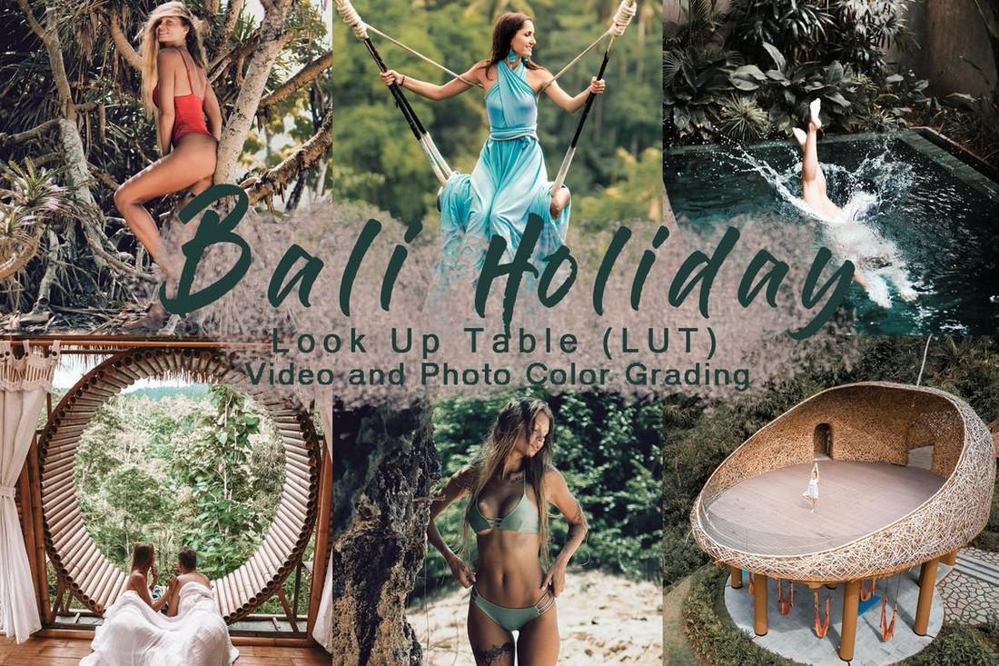 LIBURAN BALI - Premiere Pro LUTs