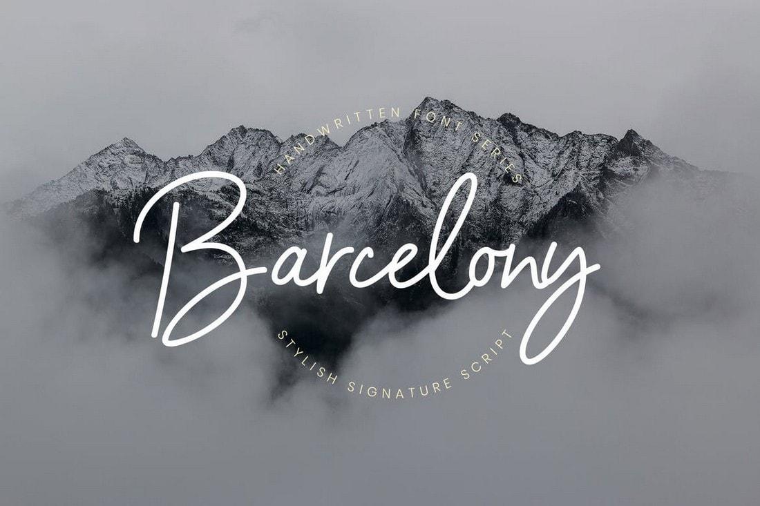20+ Best Handwritten & Handwriting Fonts 20   Theme Junkie
