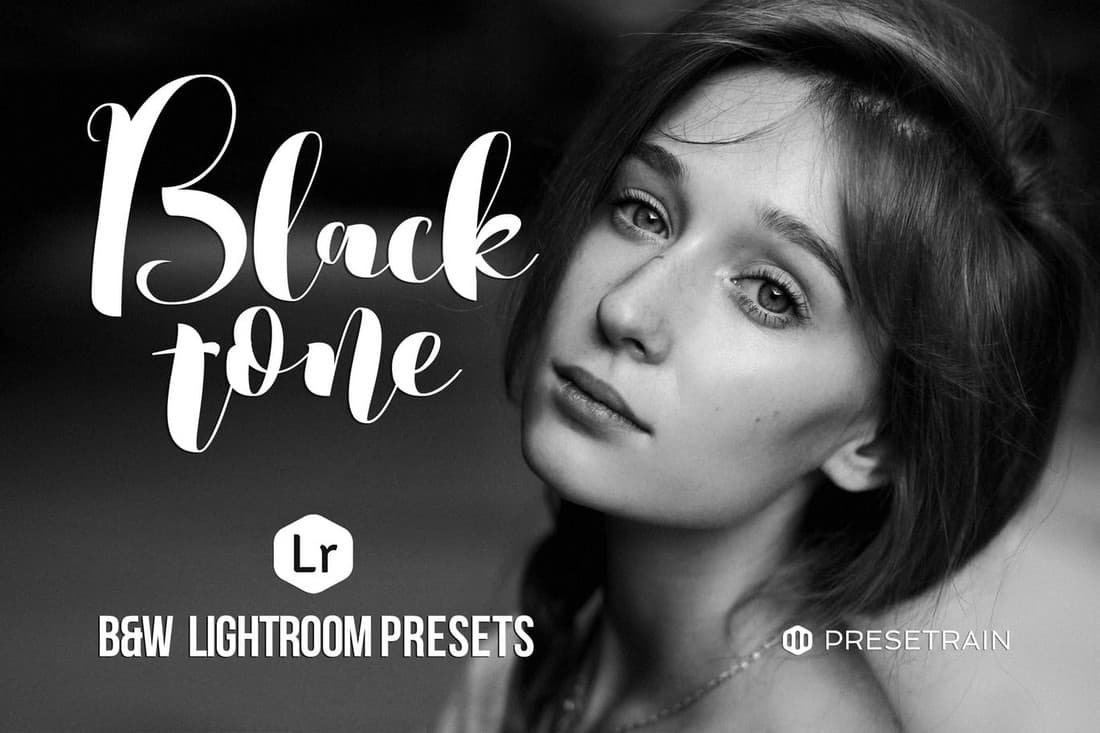 Blacktone - Black & White Lightroom Presets