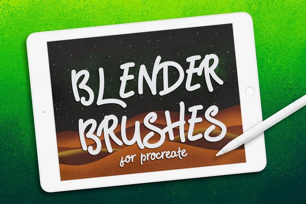 Blender Brushes for Procreate