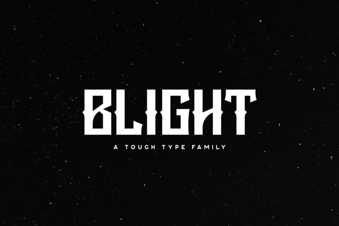 Blight - Font Band Heavy Metal
