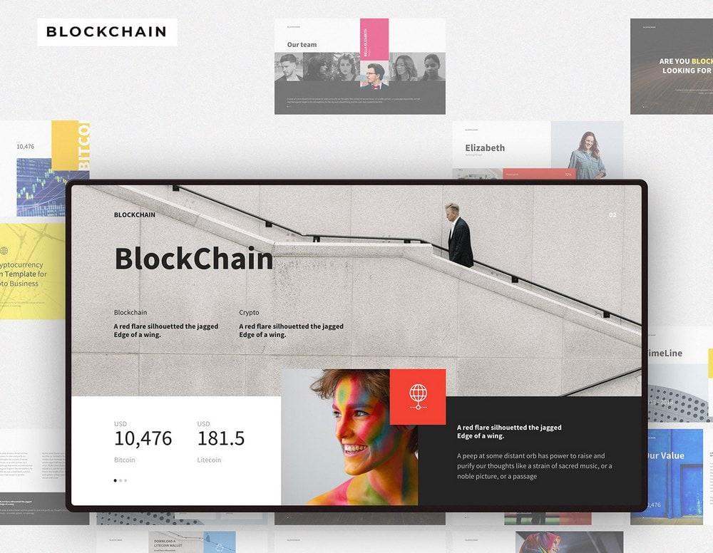 Blockchain - Free PowerPoint & Keynote Template