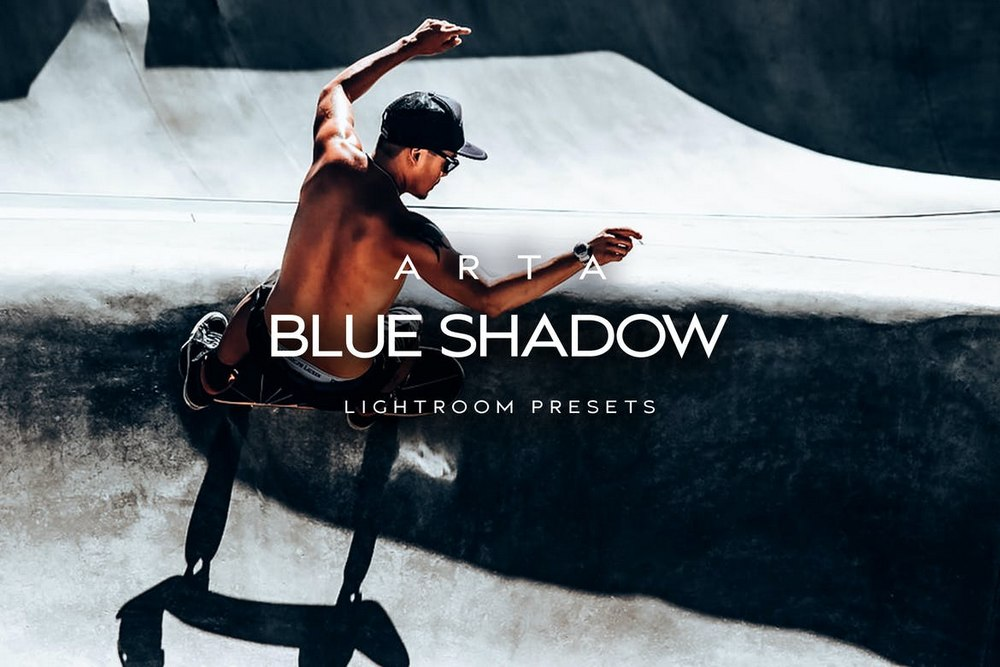 Blue Shadow Lightroom Mobile Presets