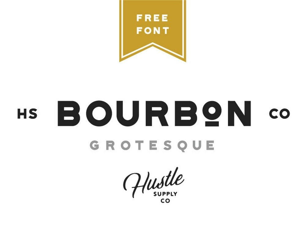 Bourbon Grotesque - Free Elegant Font