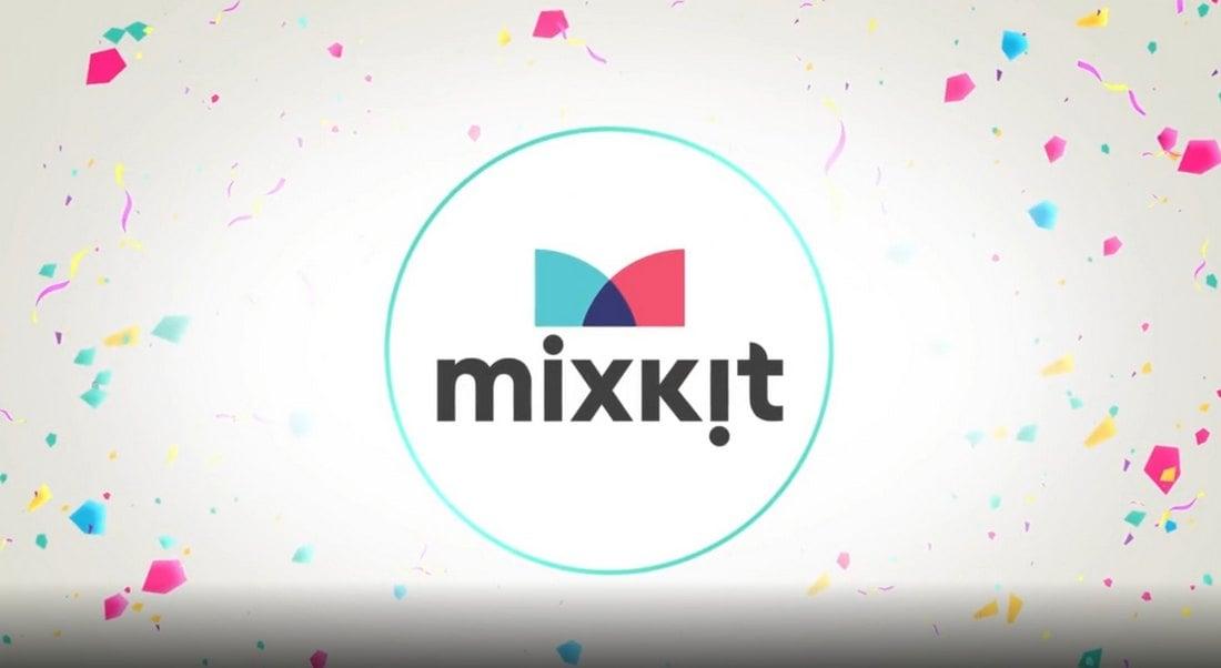 Bright Confetti Free Premiere Pro Logo Animation