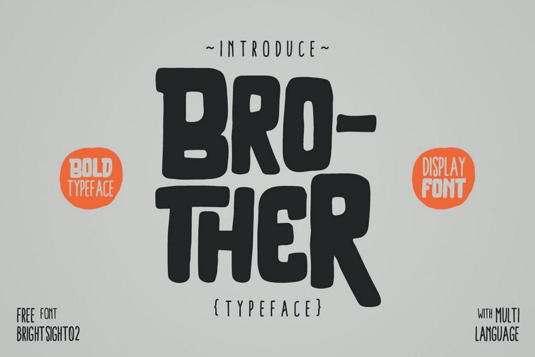 Saudara - Font Chunky Cricut