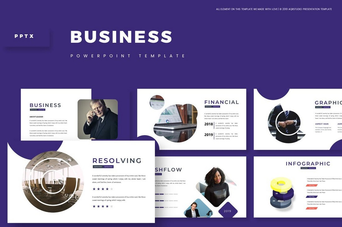 Business - Modern Powerpoint Template