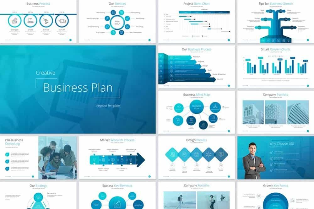 Business Plan - Minimal Keynote Template