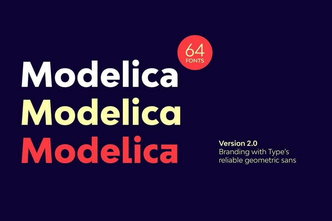 Bw Modelica - Multipurpose Font Family