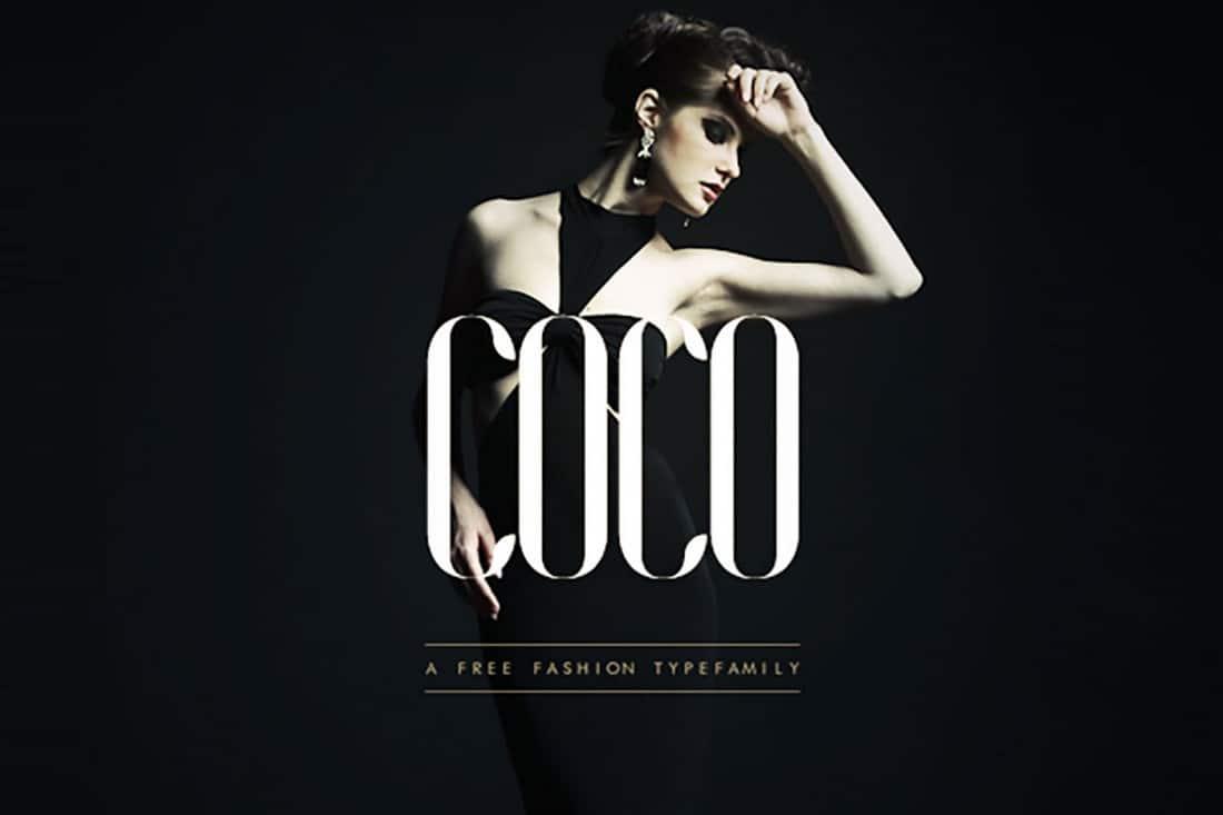 COCO - Free Elegant Condensed Font Family