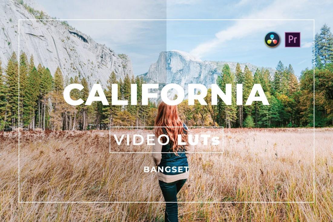 Video LUT California untuk Premiere Pro