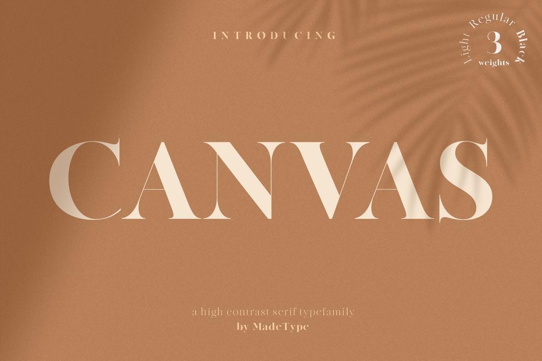 Canvas - Free Elegant Business Font