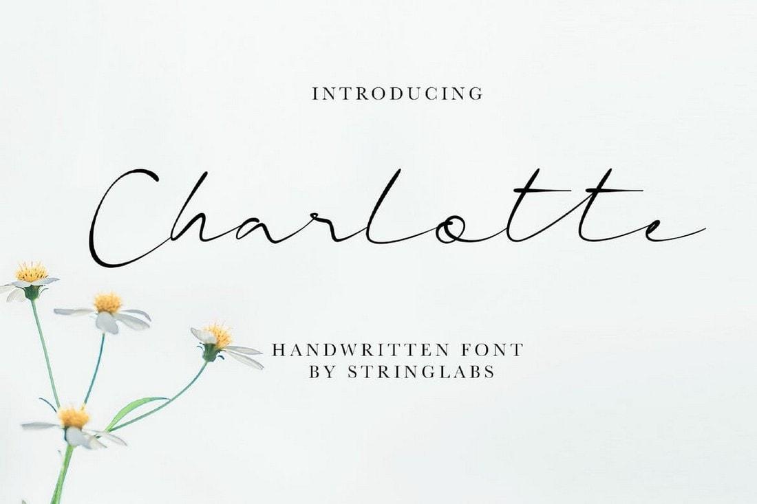Charlotte - Casual Handwritten Font