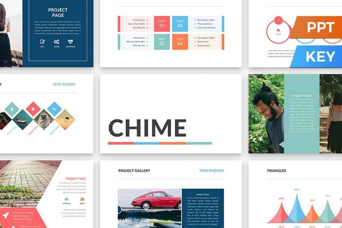 Chime - Colorful PowerPoint Template