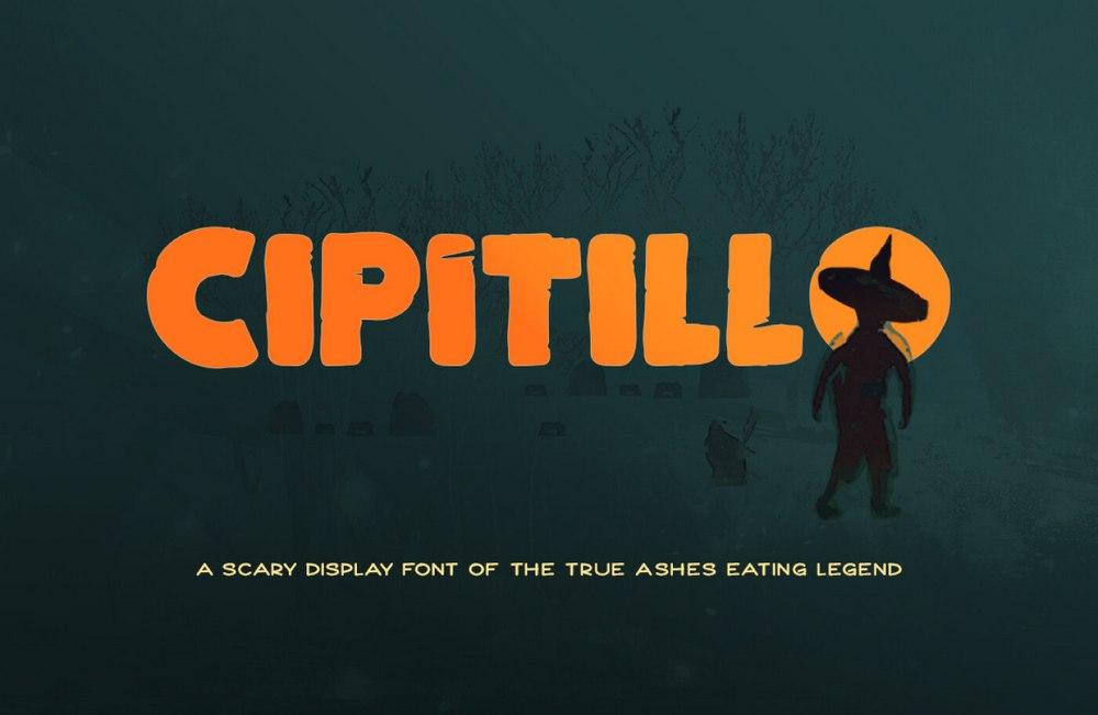 Cipitillo - Free Spooky Halloween Font