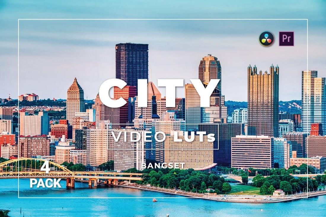 Paket Cityscape Premiere Pro LUTs