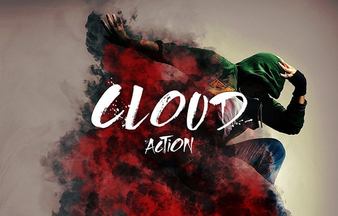 Cloud - Creative Free Photoshop Action