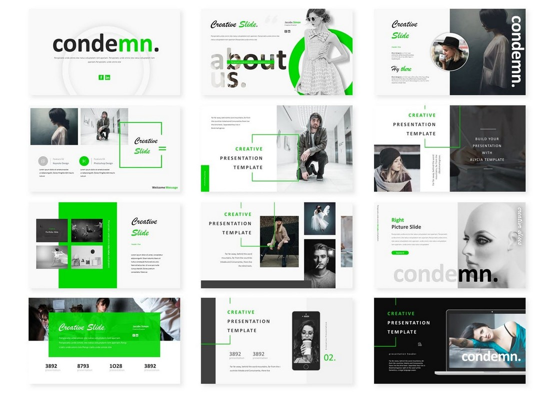 Codemn - Powerpoint Template