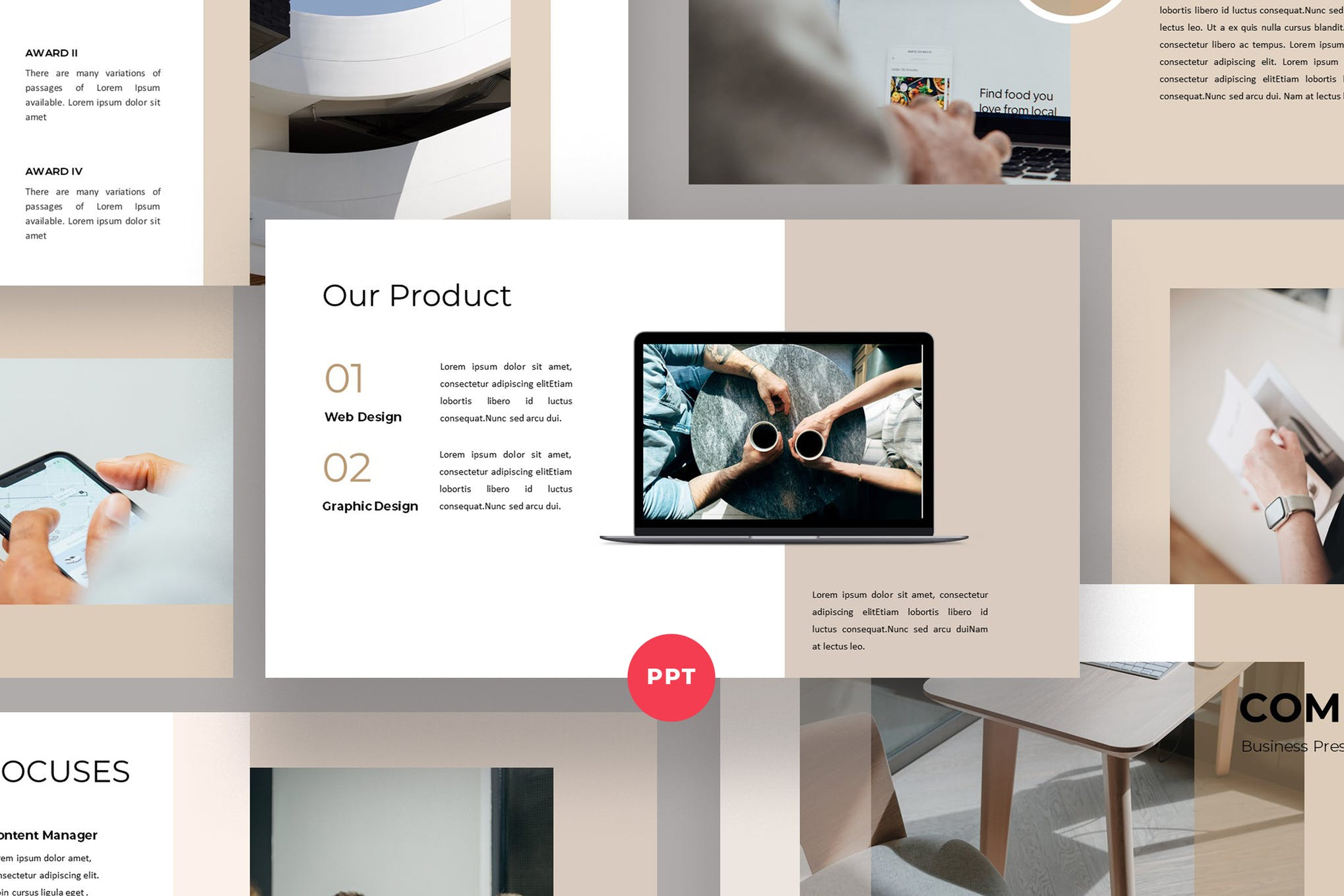 Compa- Best PowerPoint template