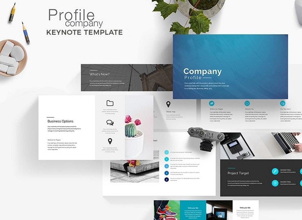 Company Profile - Free Keynote Template