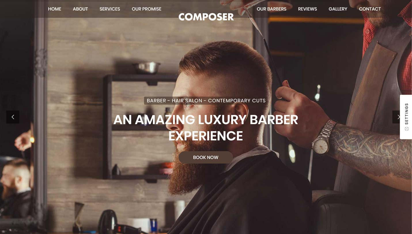 Barber Website Demo
