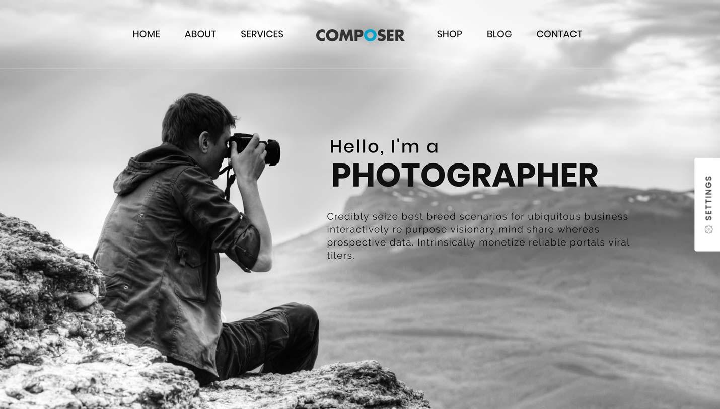 Composer Photography Demo