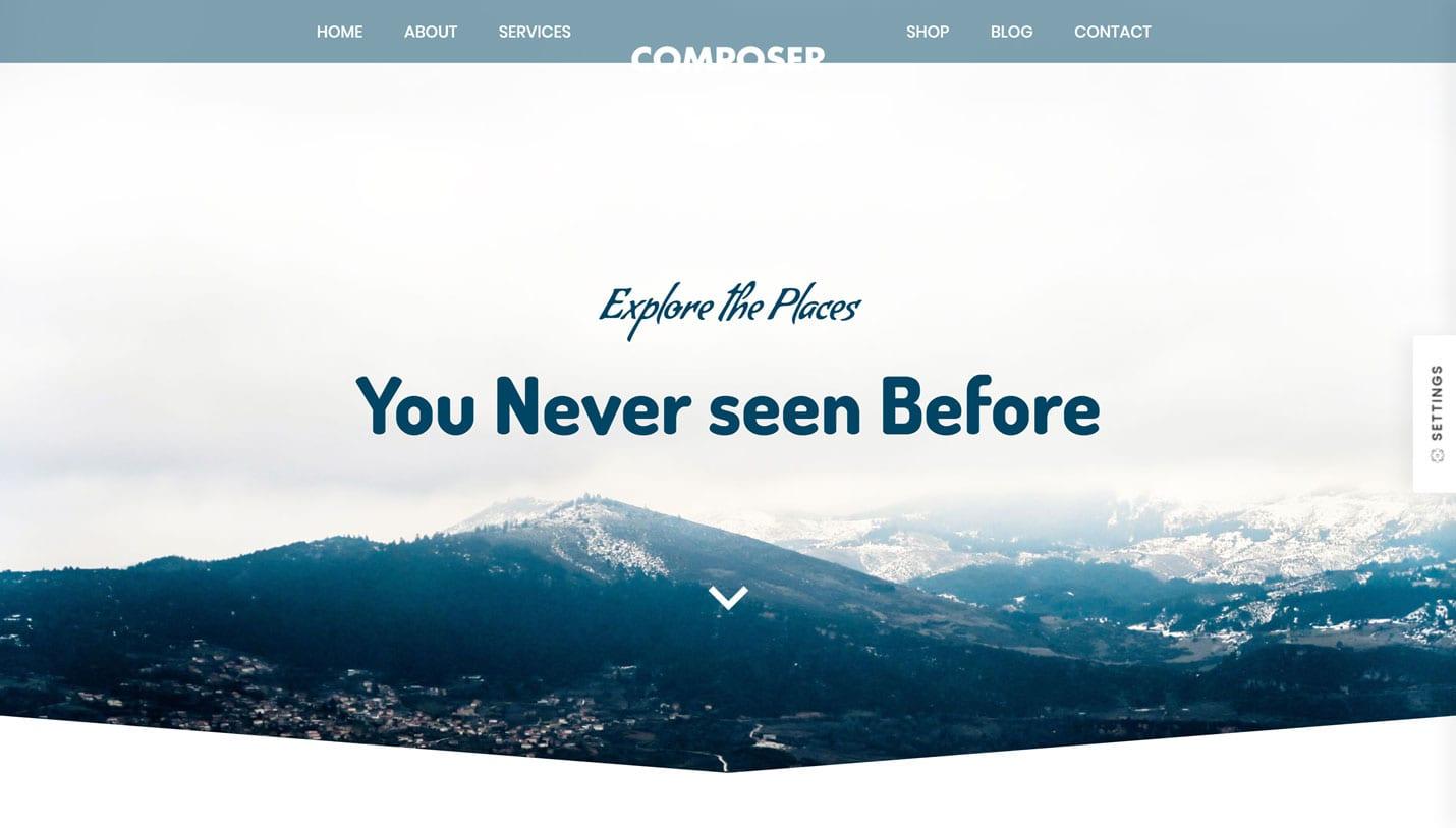 Travel Website Demo