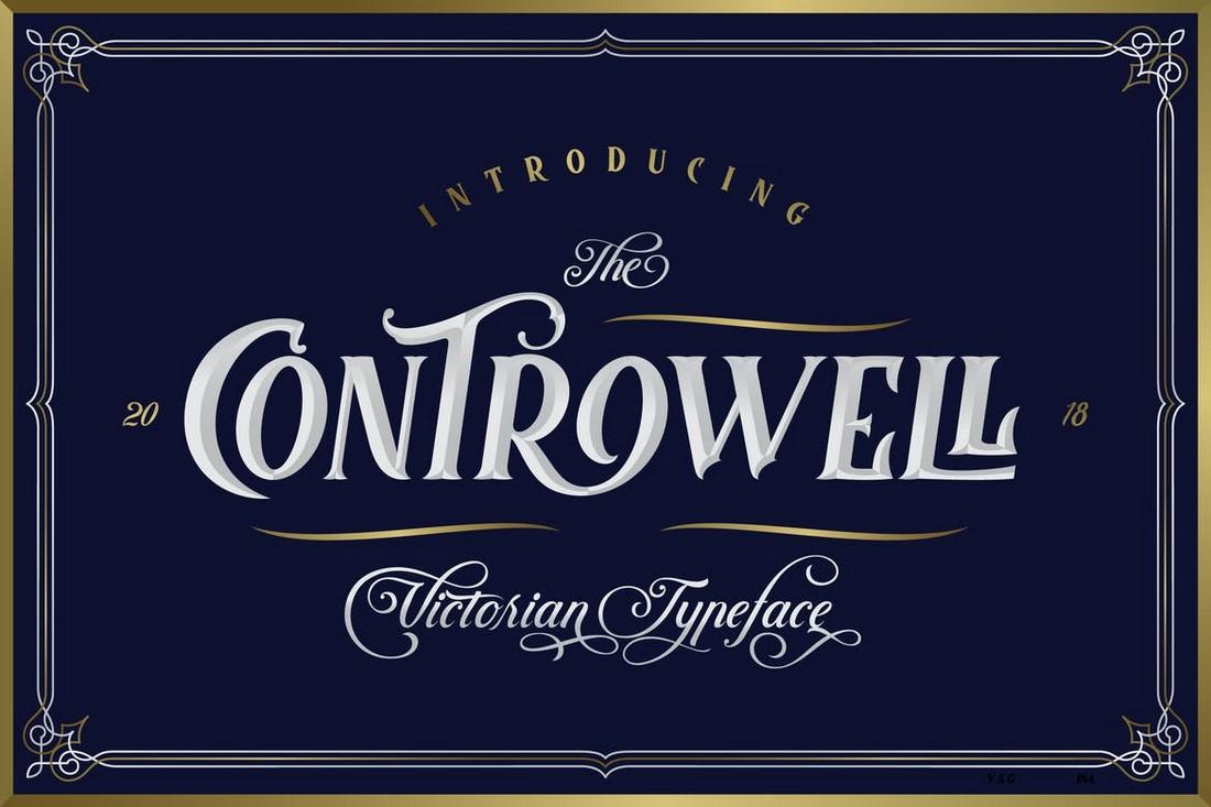 Controwell - Font Art Nouveau Victoria