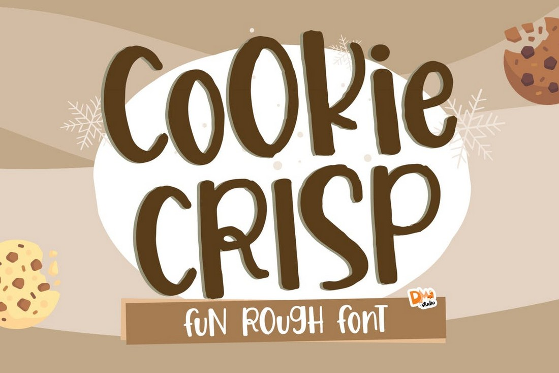 Cookie Crisp - Font Cricut yang Menyenangkan