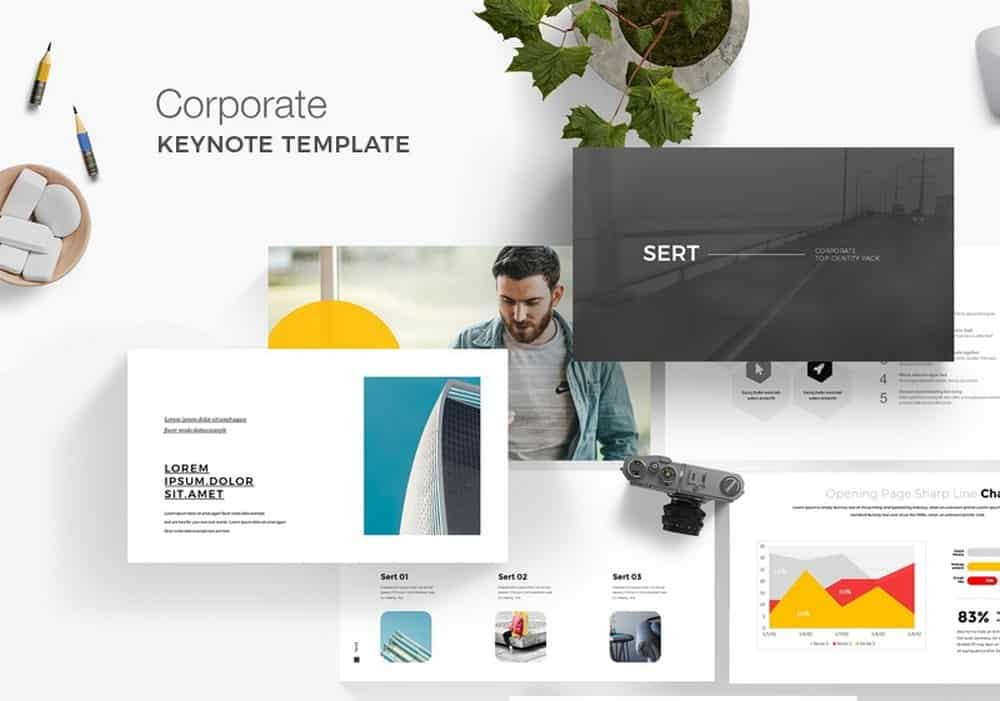 Corporate Business - Free Keynote Template