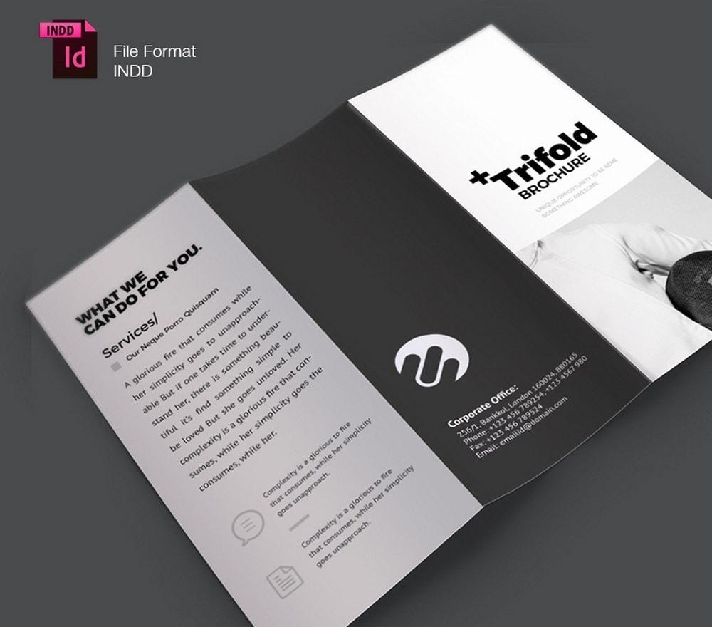 Creative Minimal Trifold Brochure