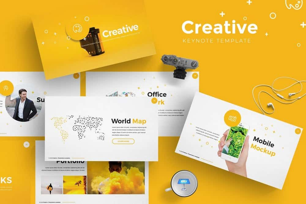 Creative - Modern Keynote Template