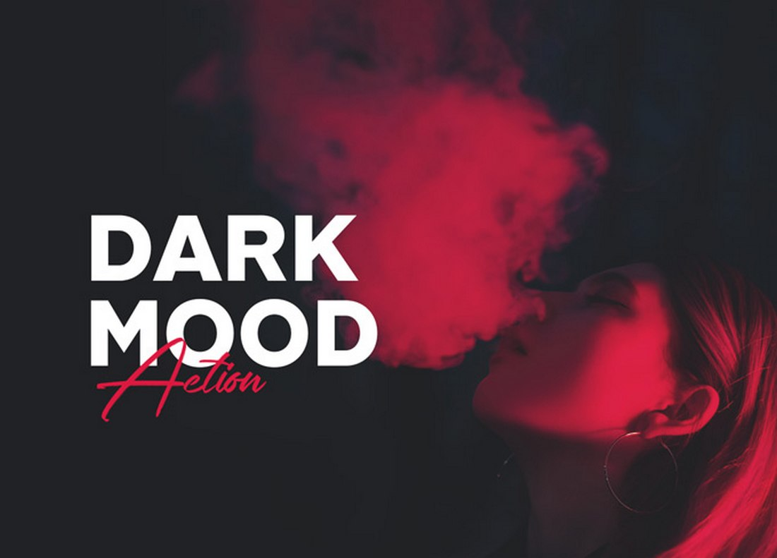 Dark Mood - Free Photoshop Filter