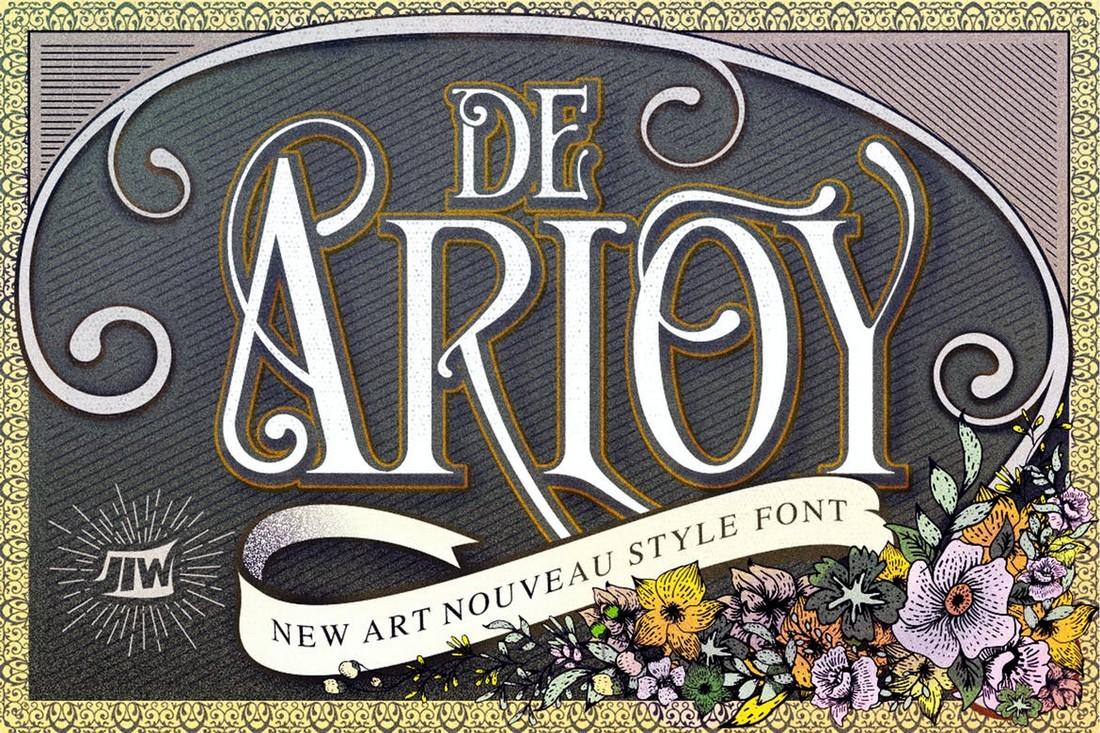 De Arloy - Font Art Nouveau