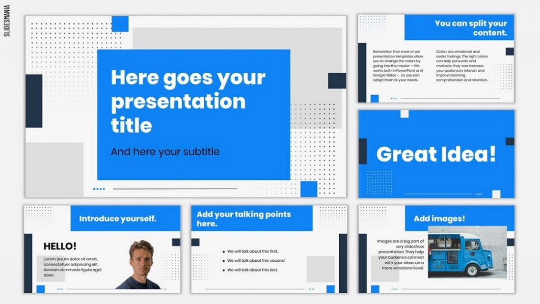 Dow - Free Pitch Deck PowerPoint Template
