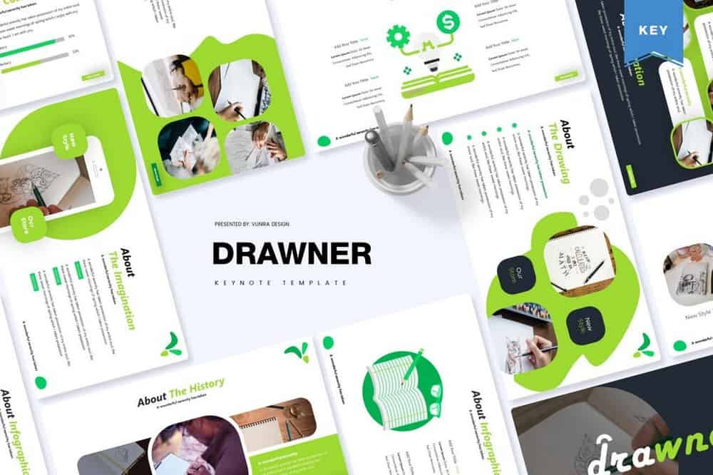 Drawner - Creative Keynote Template
