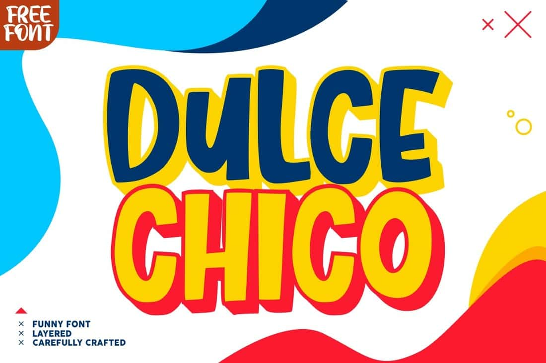 Dulce Chico - Free Quirky Display Font