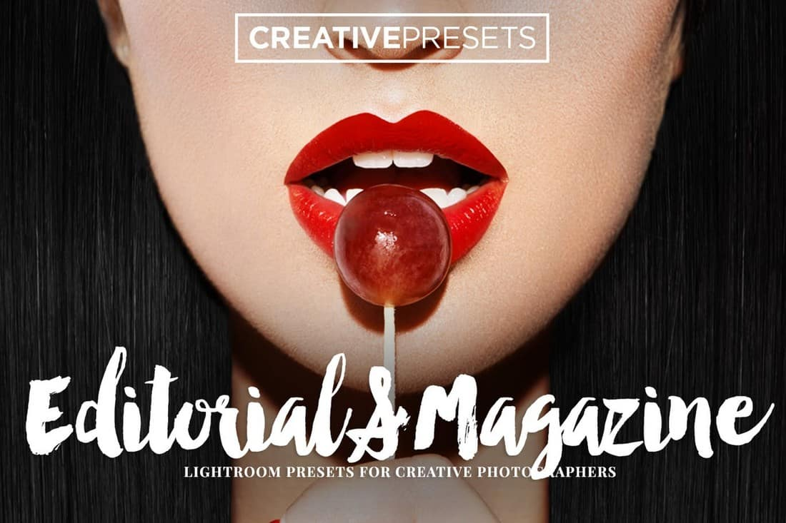 Editorial & Magazine Lightroom Presets