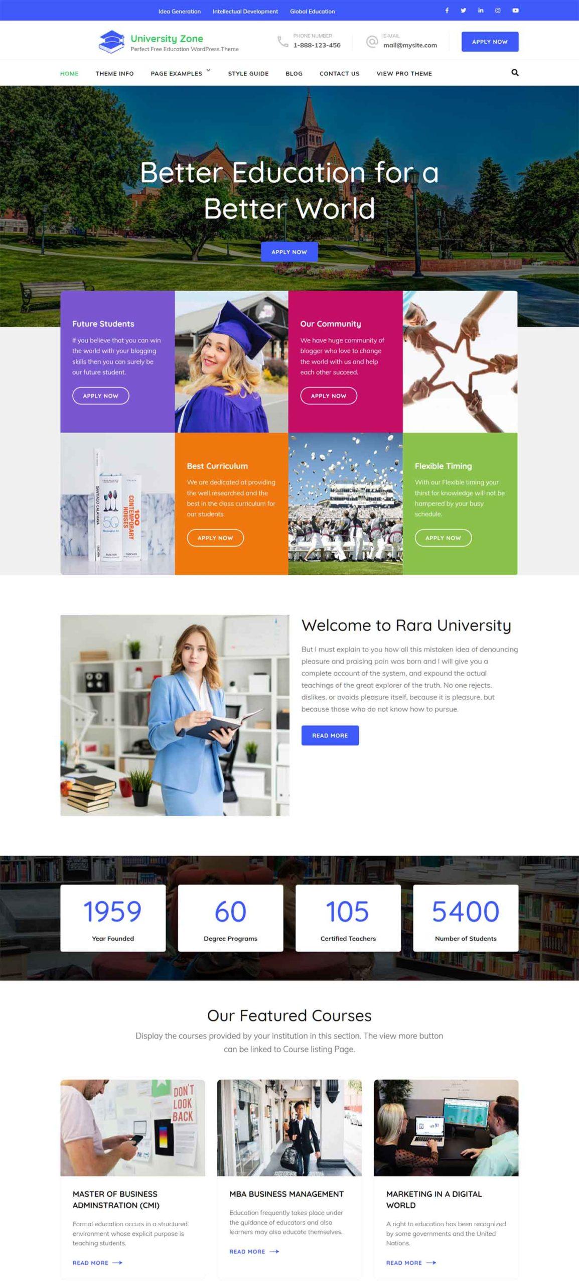 University Zone