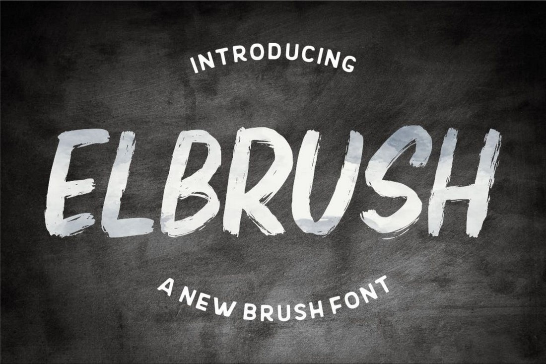 Elbrush - Procreate Font Kuas