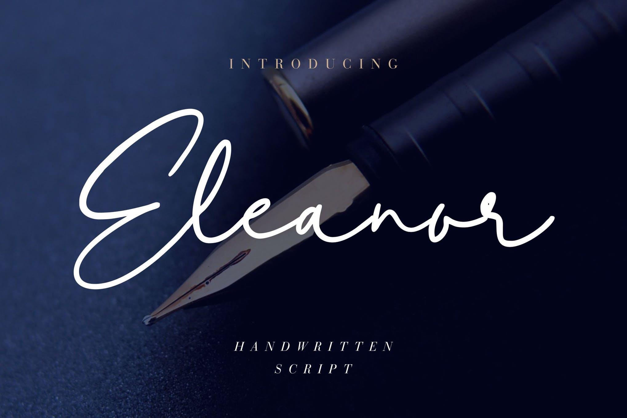 Font Pernikahan Tulisan Tangan Eleanor
