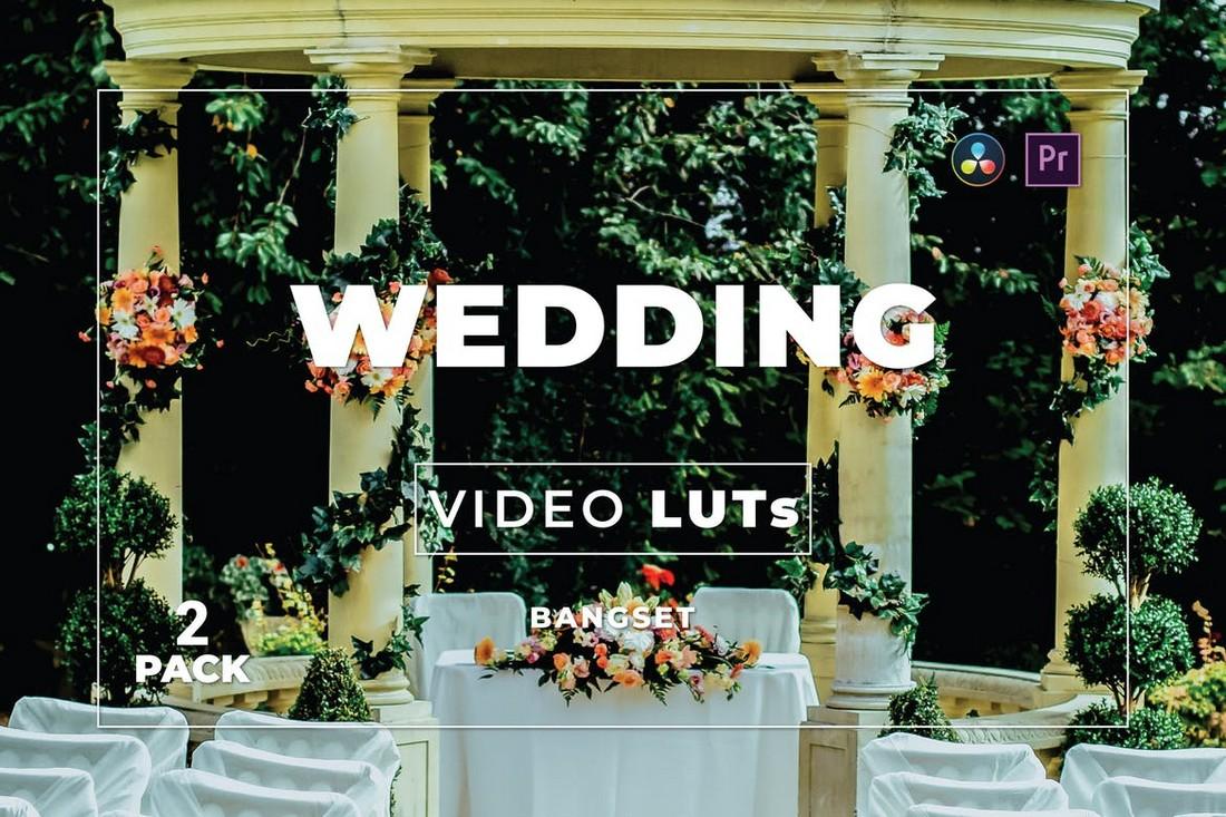 Video Pernikahan Elegan LUT