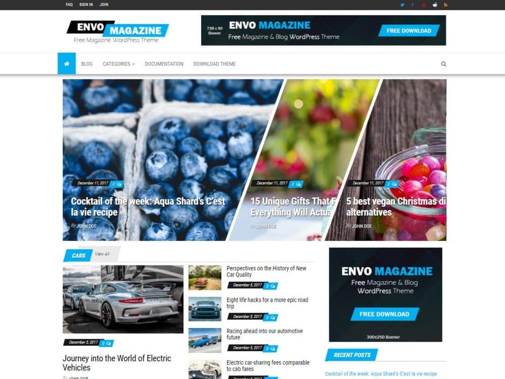 Envo Magazine-free-wordpress-theme