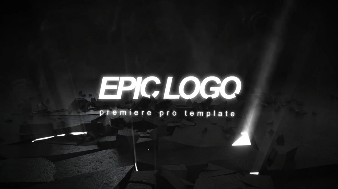 Epic Logo - Premiere Pro Logo Reveal Template