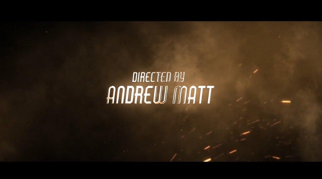 Template Kredit Akhir Film Epik untuk Premiere Pro